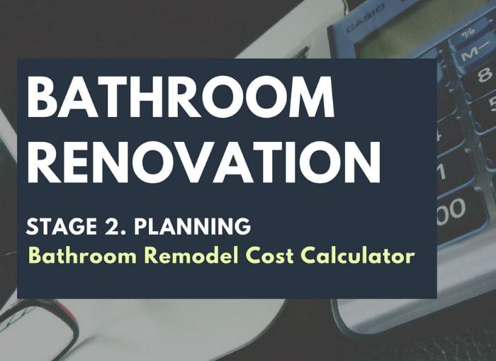 Bathroom Remodel Cost Calculator