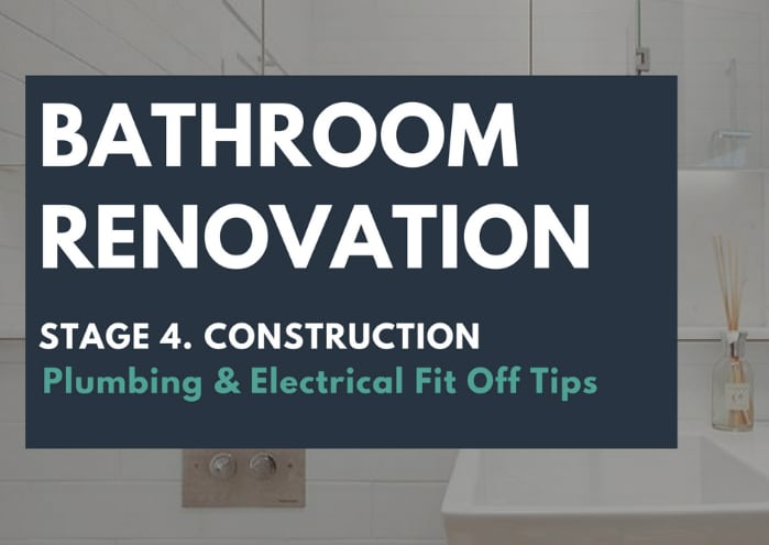 Plumbing & electrical fit off