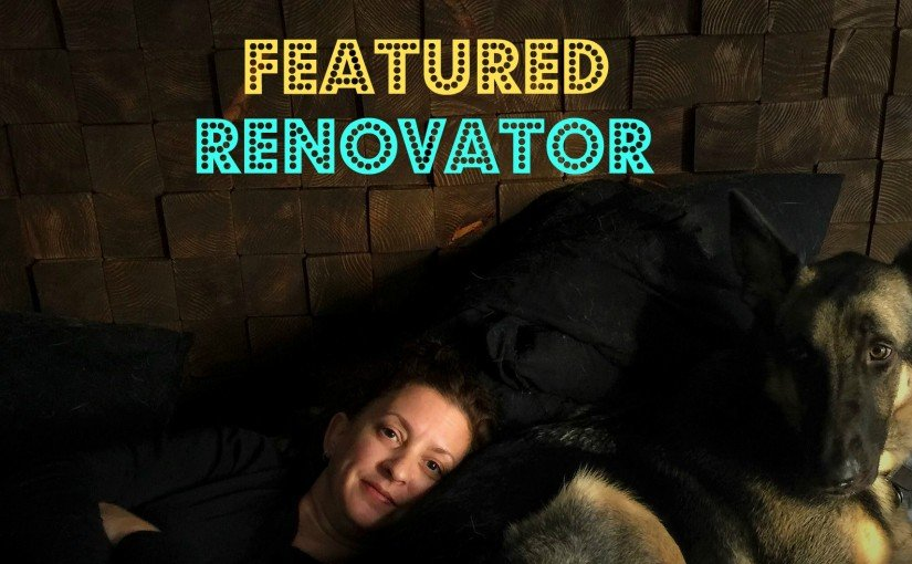 "Featured Renovator – Becky Marshall from ""Flipping The Flip""."