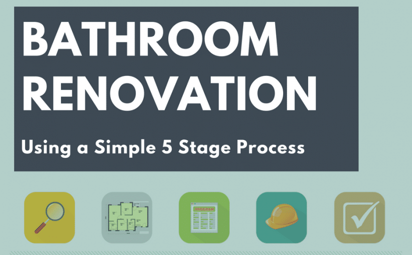 How To Renovate A Bathroom Stage Process Renovation Junkies - Bathroom remodel process