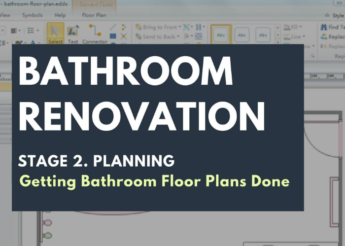 3 Ways to Get Your Bathroom Floor Plans Done