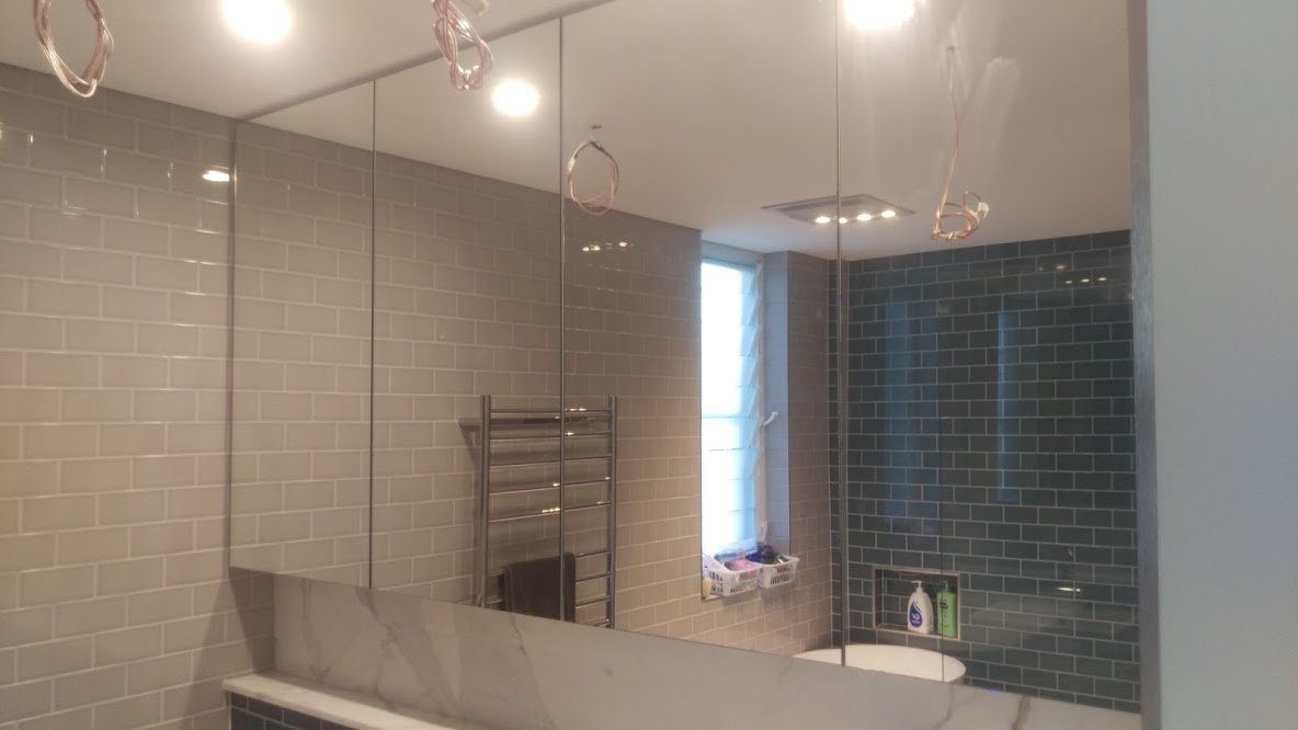 Bathroom Joinery finished