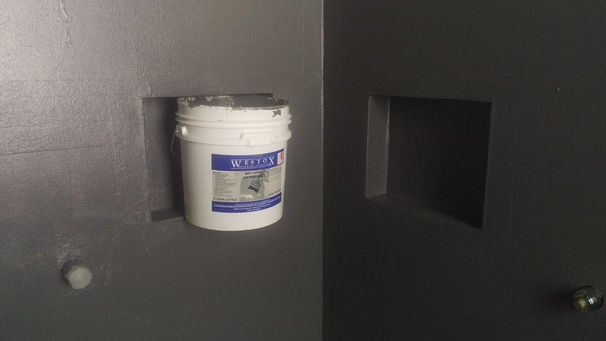 bathroom waterproofing membrane