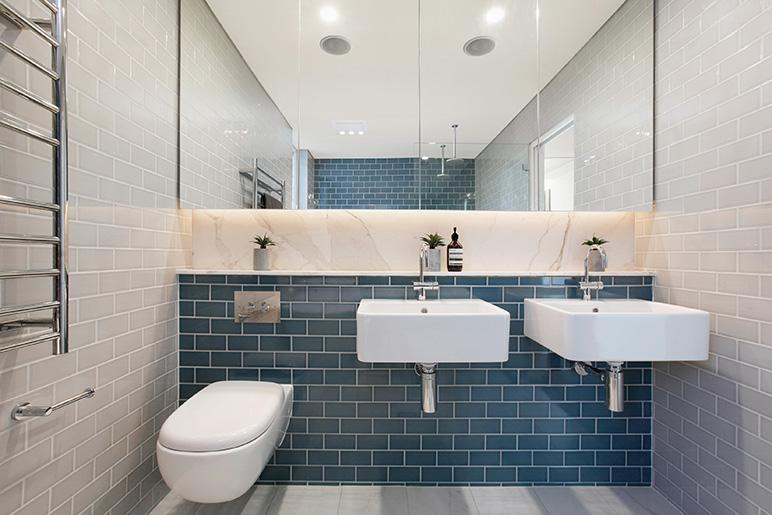complete bathroom renovation project