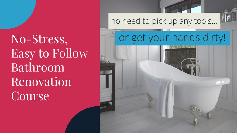 Bathroom Course Sales Page Renovation Junkies - Bathroom renovation videos